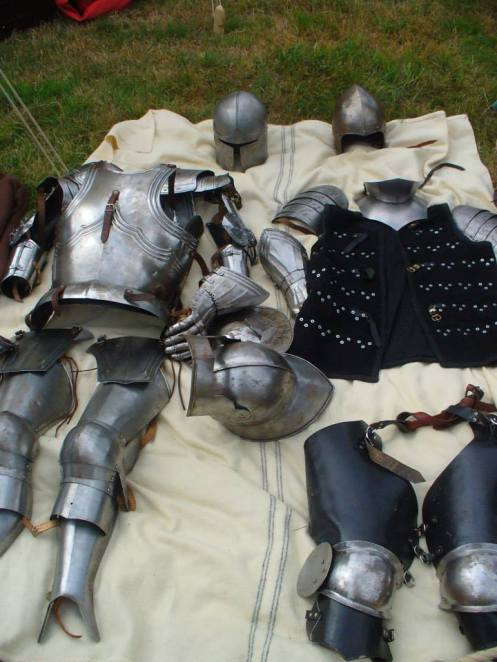 """Men at Arms and Knights armour"" Credit : ""Wolfshead Bowmen"" England/UK"
