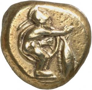 Στατήρας του 480 π.Χ, από της Γέλα της Σικελιας με παράσταη οπλιτοδρόμου. Αρχ. Μ