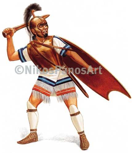 Mycaenean warrior