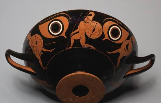 hoplite dancing pyrichius Cleveland Museum