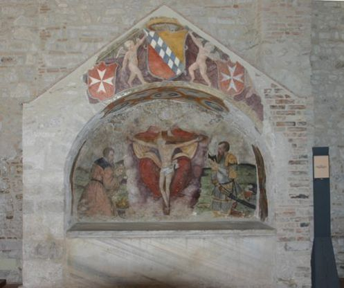 2abfaLucania - Basilicata - Sepolcro di Roberto il Guiscardo nella Chiesa della Santissima Trinità a Venosa