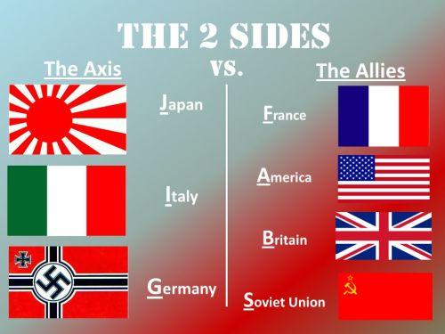 Britain. Soviet Union.
